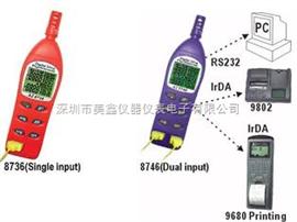 AZ8736/AZ8746台湾衡 AZ87系列 欣湿球温  湿度计