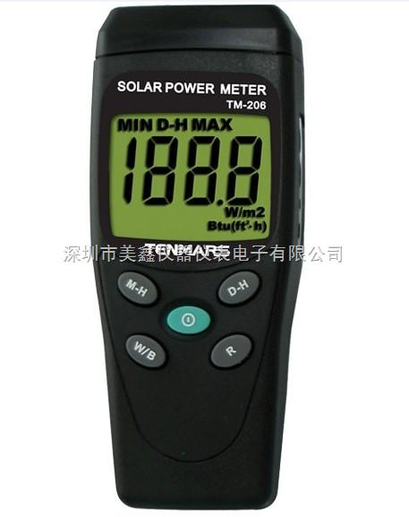 泰瑪斯TM-206太陽能功率錶