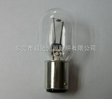 Hosobuchi OP-2118奧林巴斯顯微鏡燈泡6V30W雙觸點燈泡