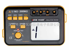 VC60B+胜利绝缘电阻测试仪