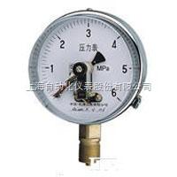 上海自动化仪表四厂YXC-152B-F耐蚀磁助电接点压力表