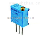 精密多圈電位器3296W-100K:3296W-1-104