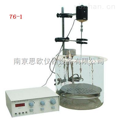 76-1-數顯電動攪拌玻璃恒溫水浴鍋 76-1