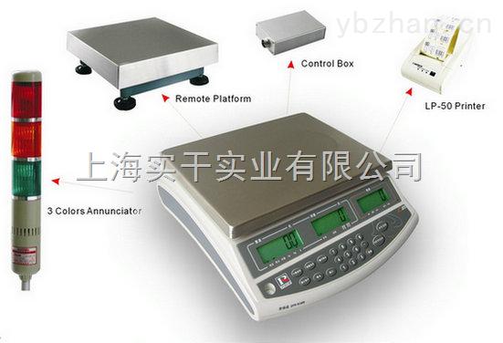 不干膠打印電子計量秤,1.5kg電子計量秤
