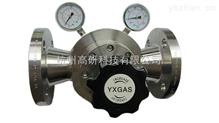 超高压大流量法兰减压器R48