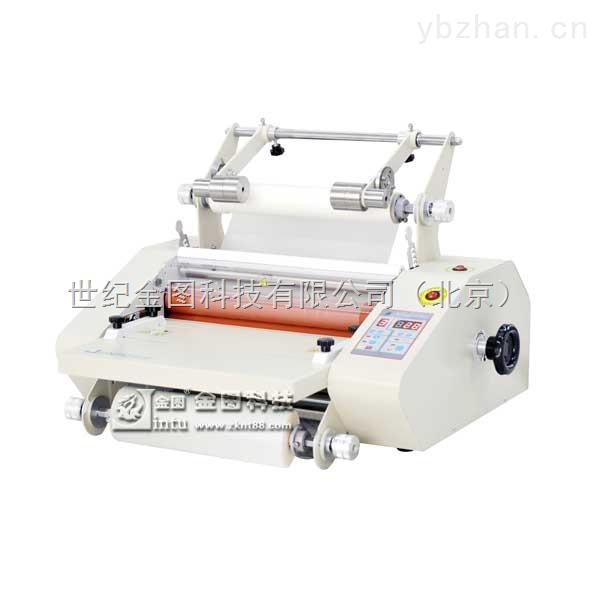 多功能冷热裱膜设备防卷防翘冷热一体覆膜机