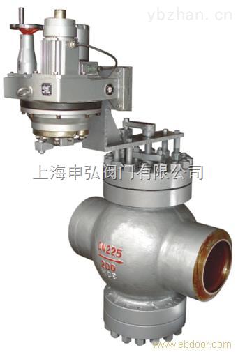 給水回轉調節閥-T960H電動焊接給水回轉調節閥