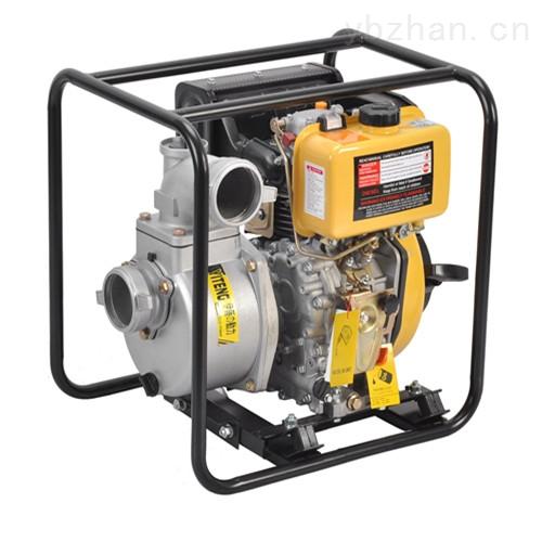 移动式4寸柴油自吸水泵