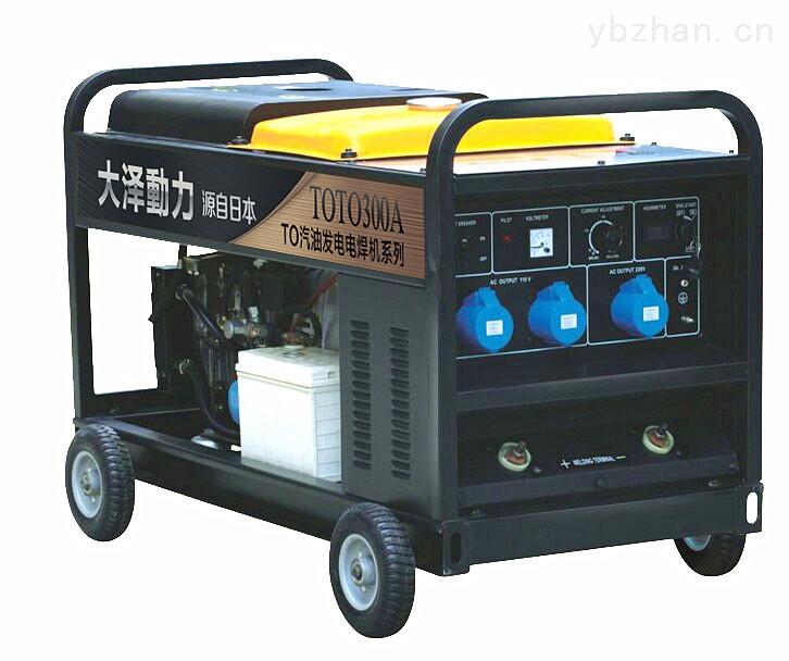 桂林电厂专用300A汽油机电焊机