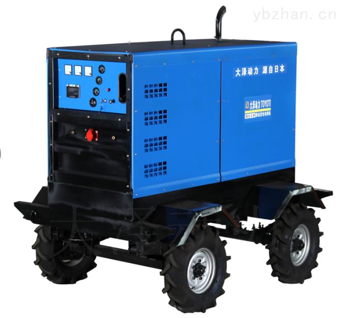 成都400A柴油发电电焊机