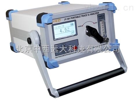 庫號:M189106-便攜式微量氧分析儀(無泵)用戶訂貨時請注明測量范圍成份