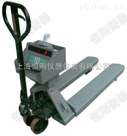 3T液压电子叉车磅秤可打印磅单