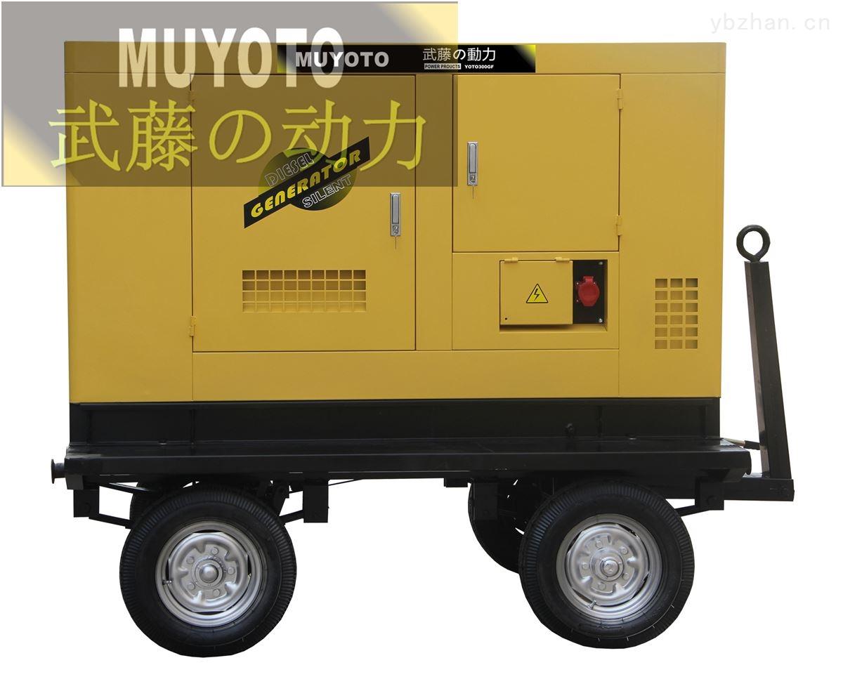 55KW三相柴油发电机组-双杠发电机