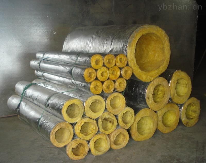 瑞金市铝箔贴面玻璃棉保温管 玻璃棉耐火性能优异