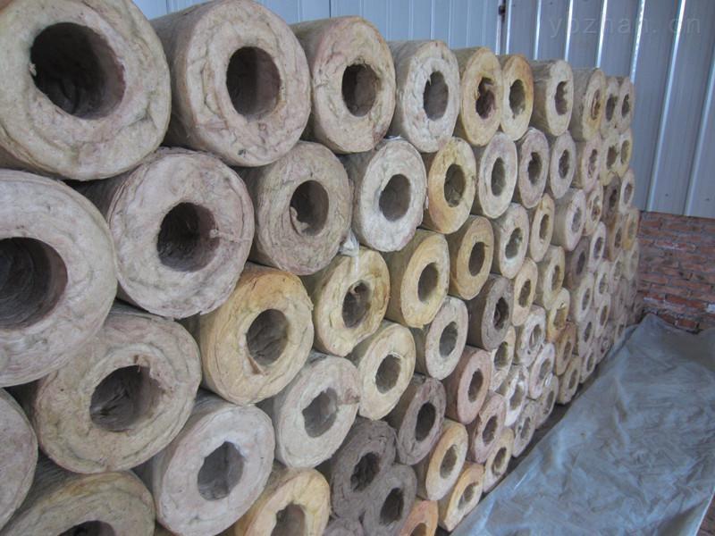 绿色环保岩棉保温管 岩棉管生产销售厂家