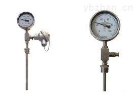 带热电阻双金属温度计
