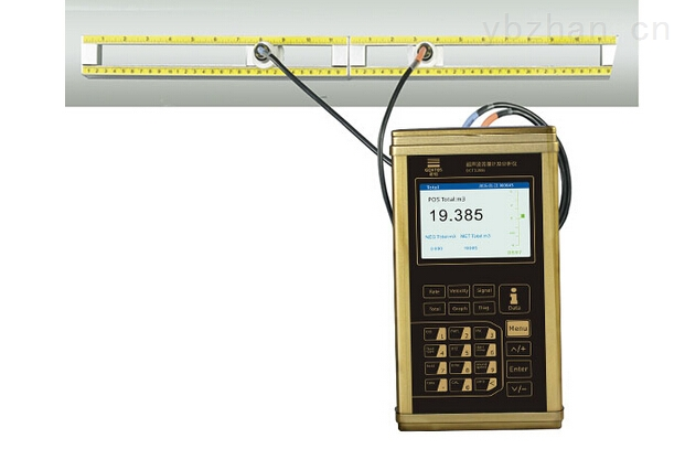 深圳建恒手持式超声波流量计操作说明