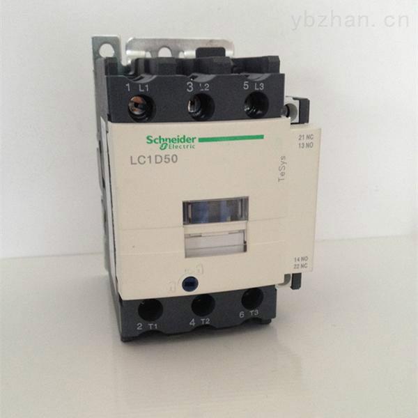施耐德lc1-d5011,lc1-d50交流接触器