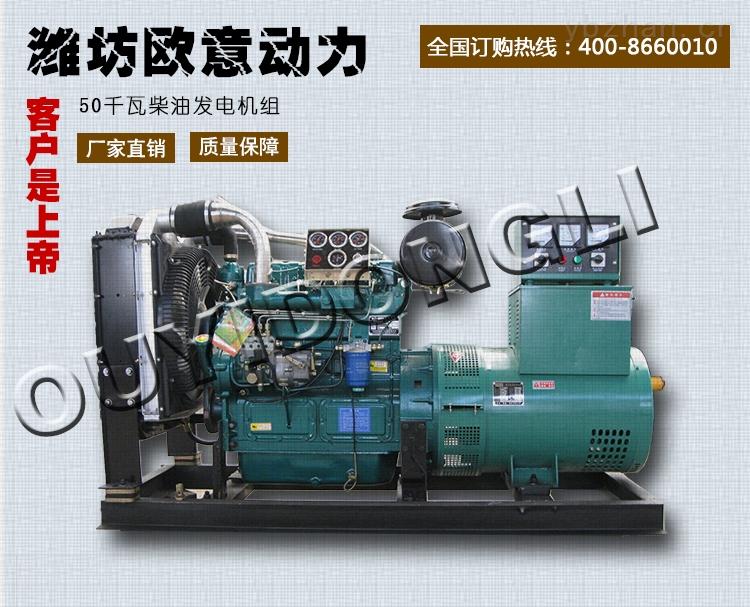 潍坊50kw柴油发电机组