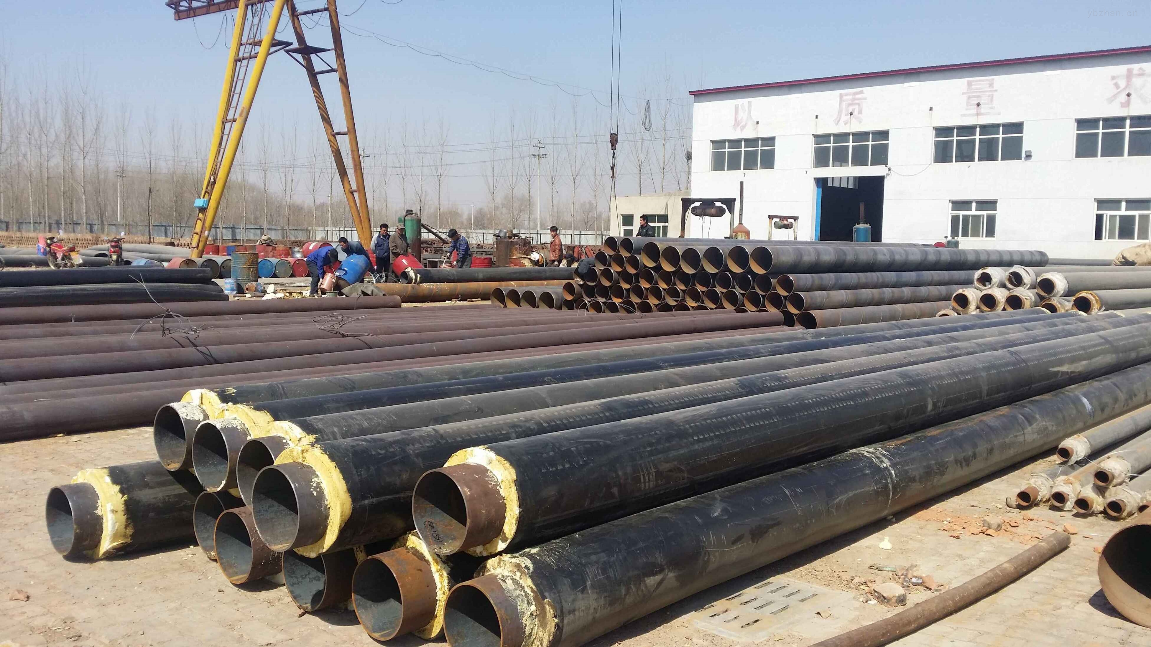 漳州聚乙烯预制直埋塑料泡沫保温管厂家直销