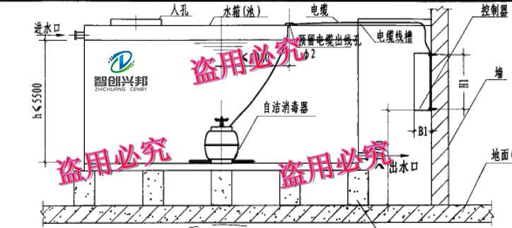 不锈钢水塔自动手动两用电路图