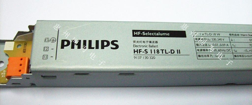 飞利浦品质: 在以下方面向您保证最佳品质:  产品安全性 镇流器防止电源电压过高,错误的连接,而且灯具发生故障时自动安全停止  系统供应商 飞利浦作为灯具、电子镇流器和照明控制设备的制造商,从最初的研发阶段开始,它就致力于保障产品的最优化性能  国际标准 HF电子镇流器符合所有相关的国际标准和规章