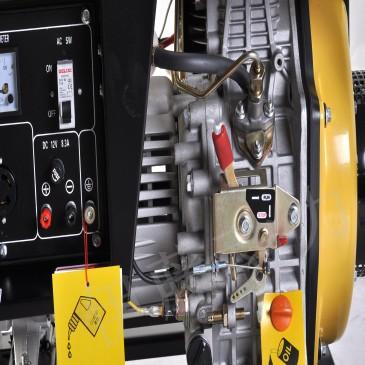 3kw电启动家用柴油发电机