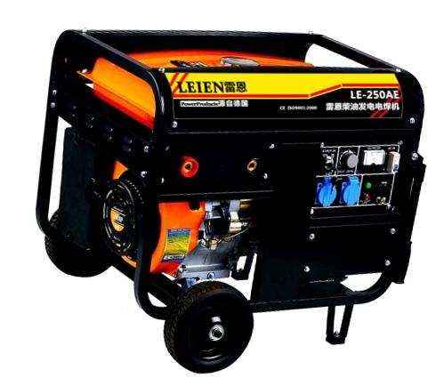 LE250A汽油发电电焊机