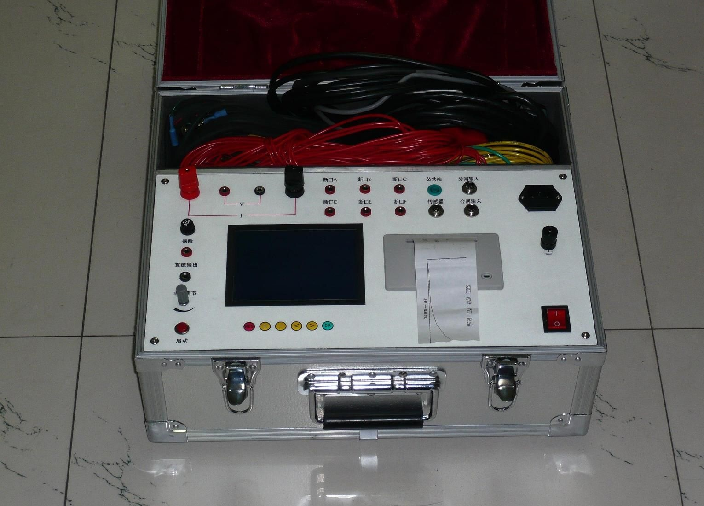 测试结束后,先关闭仪器再拆除所有接线.