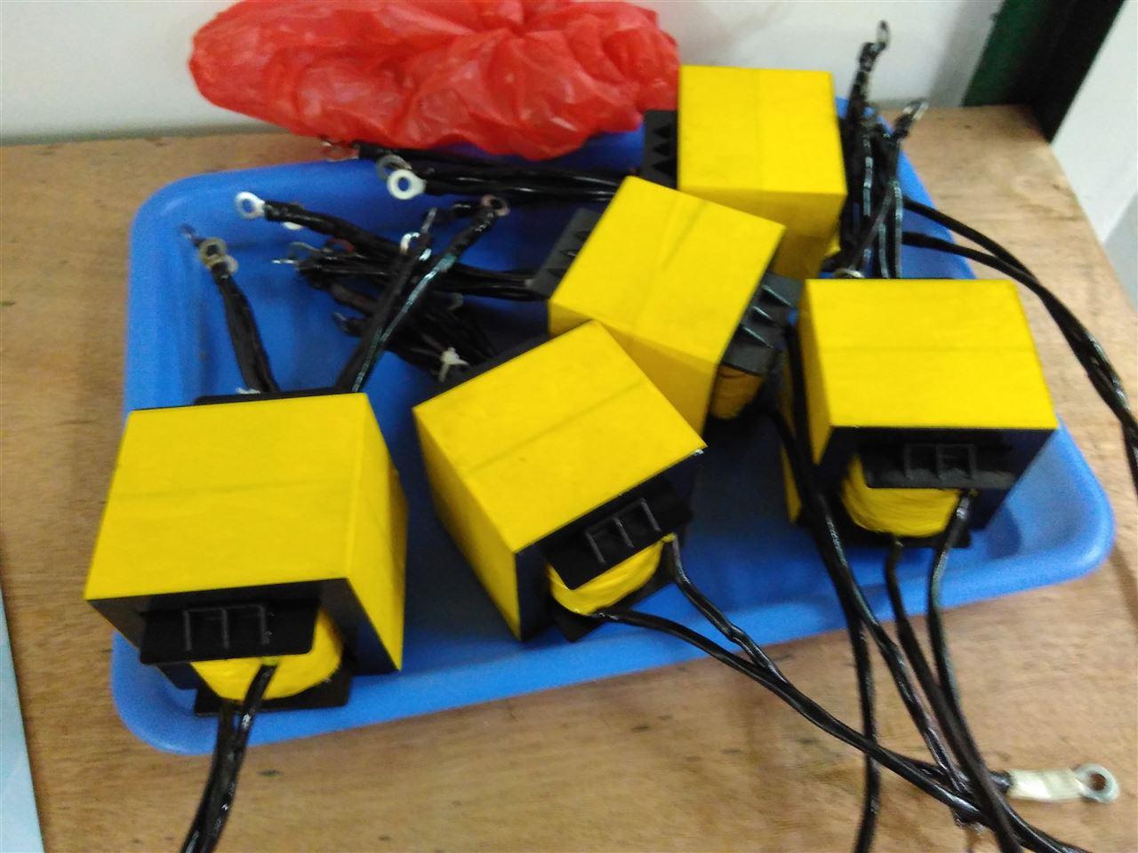 大功率ee65双磁芯 48v4000w纯正弦波逆变器高频变压器