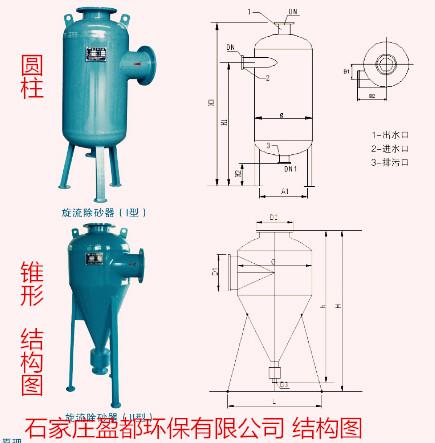 > 郴州 /立式旋流除污器 批发    立式旋流除污器产品特点: 1,结构